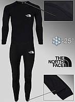 Мужское Комплект Термобелья The North Face черное термоодежда мужская