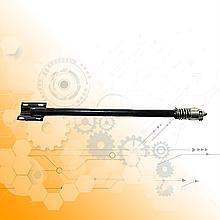 Механизм промежуточный КПП МАЗ 64227-1703325