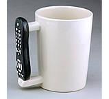 Чашка с ручкой в виде пульта от телевизора Under control, фото 3