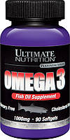 Ultimate Nutrition Омега 3 Omega 3 (90 softgels)