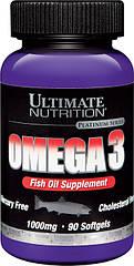 Ultimate Nutrition Омега 3 Omega 3 (90 softgels)