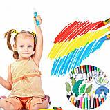 """Набор для детского рисования """"Настоящий художник"""" чемодан из 208 предметов + чемодан с мольбертом Голубой, фото 8"""