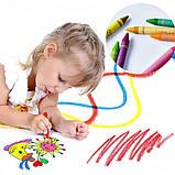 """Набор для детского рисования """"Настоящий художник"""" чемодан из 208 предметов + чемодан с мольбертом Голубой, фото 9"""