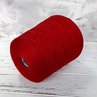 Пряжа Меринос 100%,Zegna Baruffa  Cashwool красный, фото 1