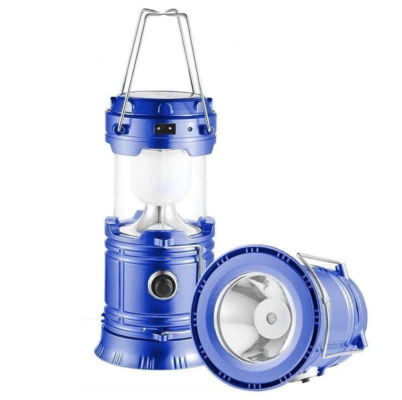 Кемпинговый фонарь Sx-5800t (солнечная панель, power bank)