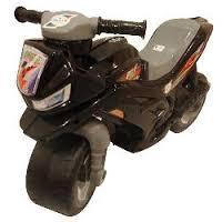 Крутий дитячий Мотоцикл Беговел 2-х колісний, чорного кольору