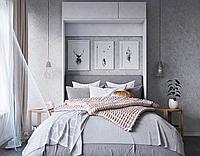 Подъемная шкаф-кровать вертикальная в спальню, фото 1