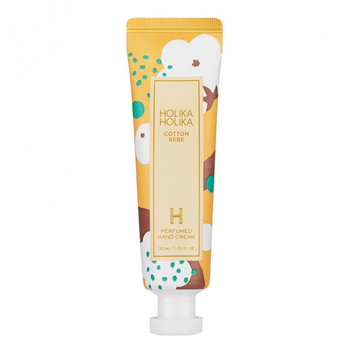 Крем для рук с хлопок Holika Holika Cotton Bebe Perfumed Hand Cream 30 мл