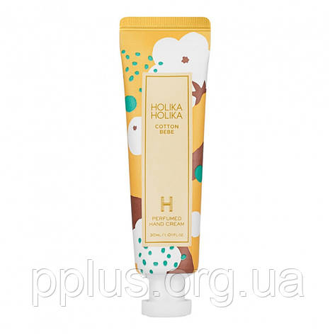 Крем для рук с хлопок Holika Holika Cotton Bebe Perfumed Hand Cream 30 мл, фото 2