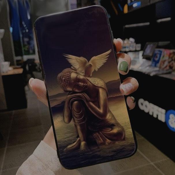 Чехол для мобильного телефона Будда