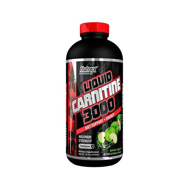 Жидкий жиросжигатель Л-карнитин Nutrex Liquid Carnitine 3000 (480 ml)