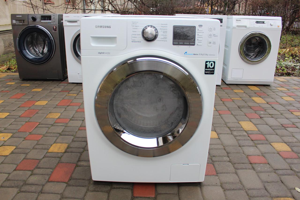 Пральна/Стирально-сушильная + пара машина Samsung 8/5kg. из Германии!