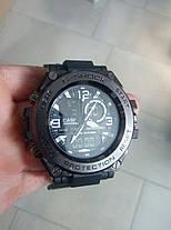 Годинник наручний Casio G-Shock GPW-1000 Black-Orange / касіо джишок помаранчеві, фото 3