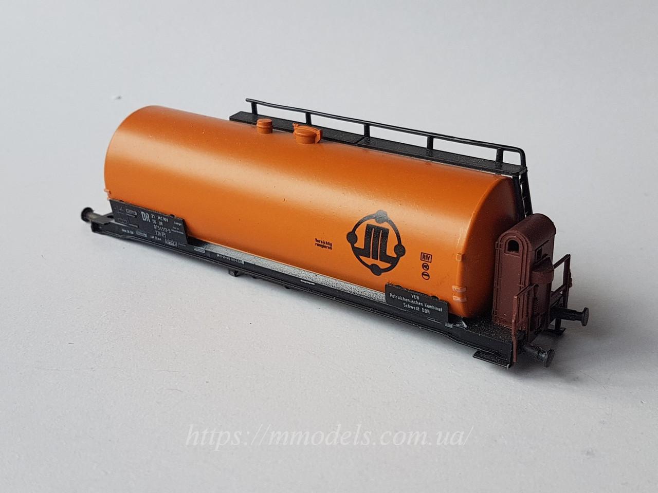 Piko OLD Запасные части для вагонов - котел 4х осной цистерны с рамой принадлежности DR, масштаба 1/87, H0