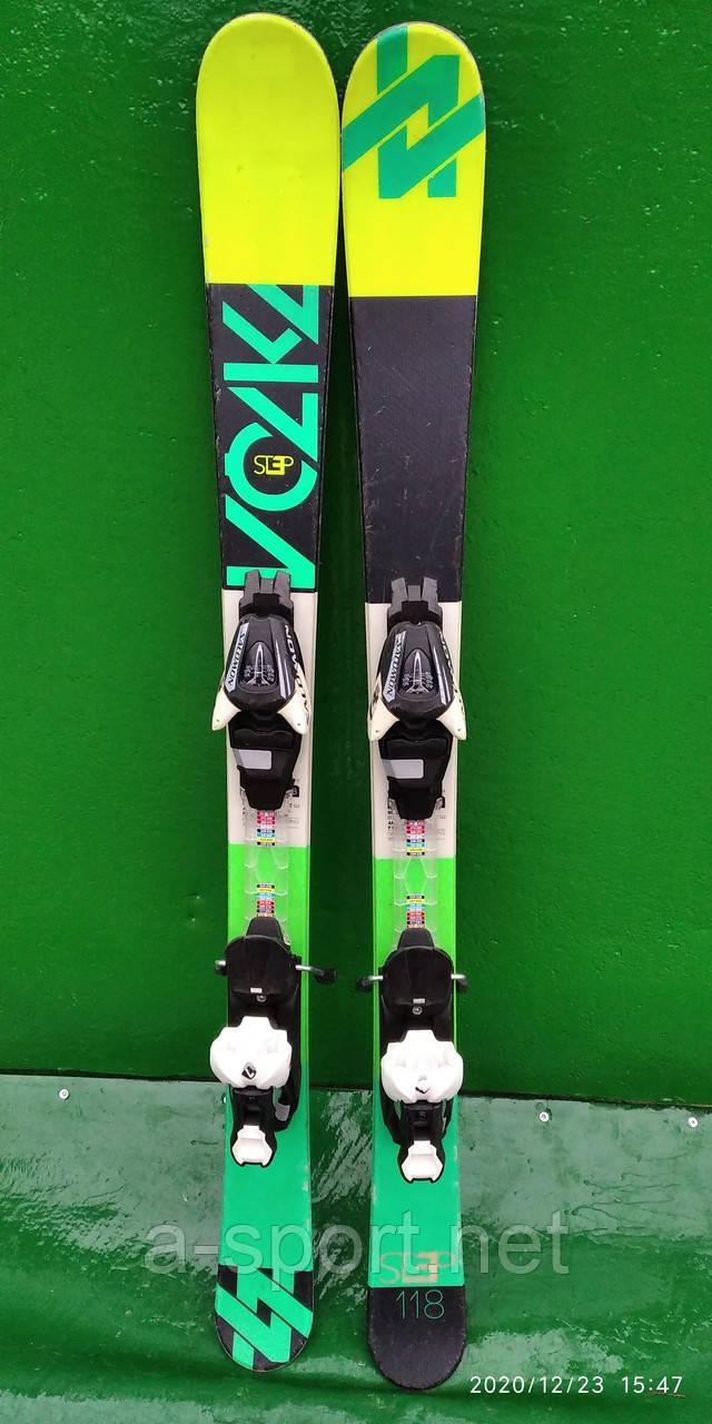 Гірські лижі бу Volkl Step 118 см,  твін-тіп 2015р
