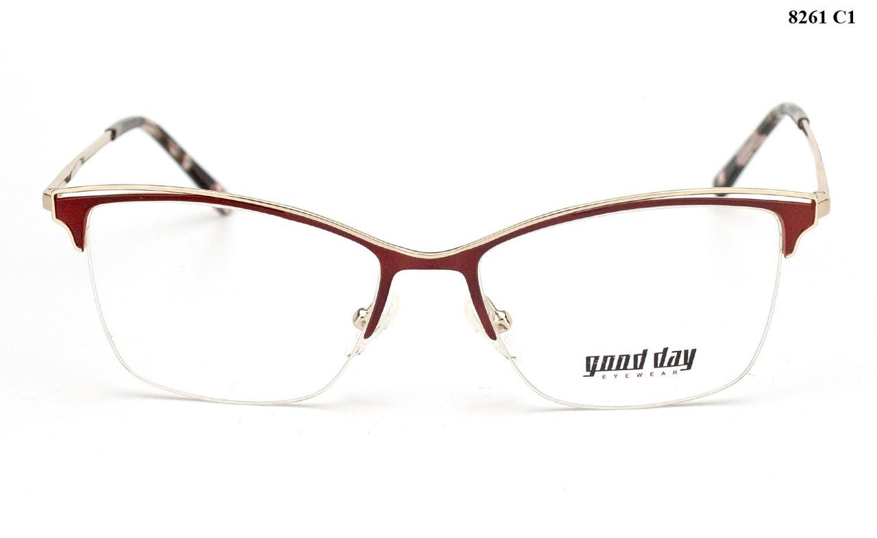 Полуоправные очки для чтения (от +0.5 до +4.0)