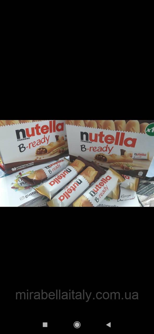 Nutella B-ready вафлельные батончики 10 шт