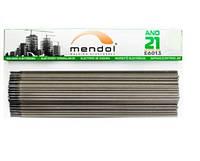 Сварочные электроды MENDOL АНО-21 диаметр 3 мм вес 2,5 кг