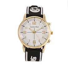 Часы мужские Camilo West  Sport на силиконовом ремешке. Белый