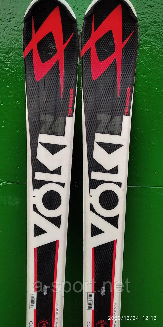Гірські лижі бу Volkl RTM 170 см  для карвінгу, 2015p