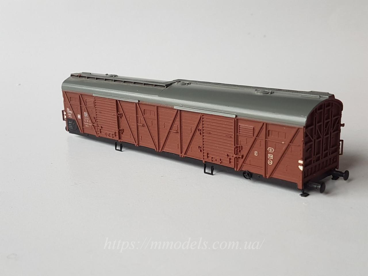 Запасная часть к моделям Пико - модель кузова крытого вагона № 731013, DR, масштаба H0, 1:87