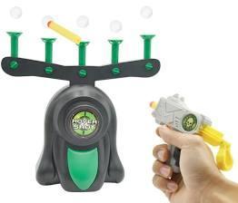 Воздушный тир ,пистолет с дротиками и летающими мишенями