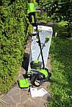 Снегоуборочная лопата бесщёточная аккумуляторная Greenworks GD80SS30 80V ( 2600602 )  с  АКБ 2 А.ч.  и ЗУ, фото 3