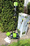 Снегоуборочная лопата бесщёточная аккумуляторная Greenworks GD80SS30 80V ( 2600602 )  с  АКБ 2 А.ч.  и ЗУ, фото 4