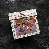 Подарок в коробке блестящая кукла глиттер шар ЛОЛ | L.O.L. Surprise 8 Surprises LOL, фото 4