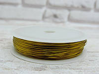 Проволока  0,3 мм. Цвет-золото, 50 метров