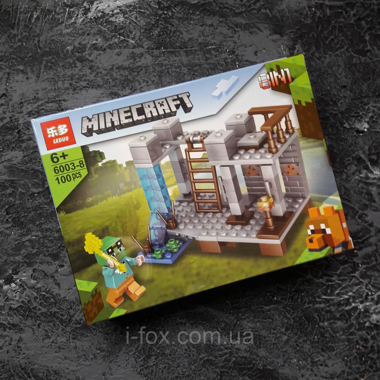Конструктор Minecraft Коллекция из 8 в 1| Конструктор Minecraf Построй свой поселок