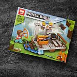 Конструктор Minecraft Коллекция из 8 в 1| Конструктор Minecraf Построй свой поселок, фото 5