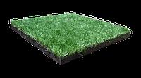 Гумова плитка-трава PuzzleGym Sport 500х500 мм (40/12 мм)