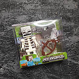 Коллекционная фигурка Minecraft + броня, фото 2