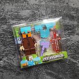 Коллекционная фигурка Minecraft + броня, фото 4