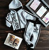 Теплий зимовий спортивний костюм на флісі Адик спортивный костюм на флисе 86-92,92-98,98-104