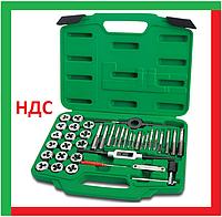 Набор метчиков и плашек, 40 предметов, профессиональный, топтул, Toptul JGAI4001