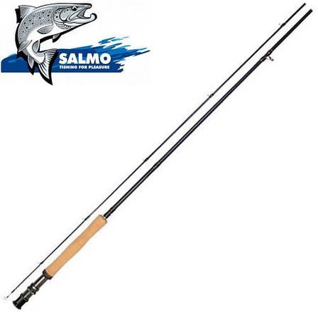 Удилище нахлыстовое Salmo Diamond Fly 2,7м класс 6/7, фото 2