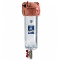 Магистральный корпус - фильтр (колба)  самопромывной Aquafilter ( Аквафильтр для горячей воды)