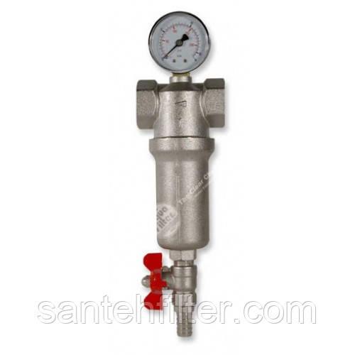 """Промывной фильтр H2O System для горячей и холодной воды 1/2"""""""