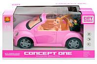 Машина с куклой WD580B Звук. Свет