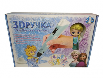 3D Ручка Холодное сердце