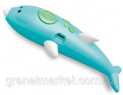 Ручка 3D аккумуляторная Дельфин K9903 с трафаретом