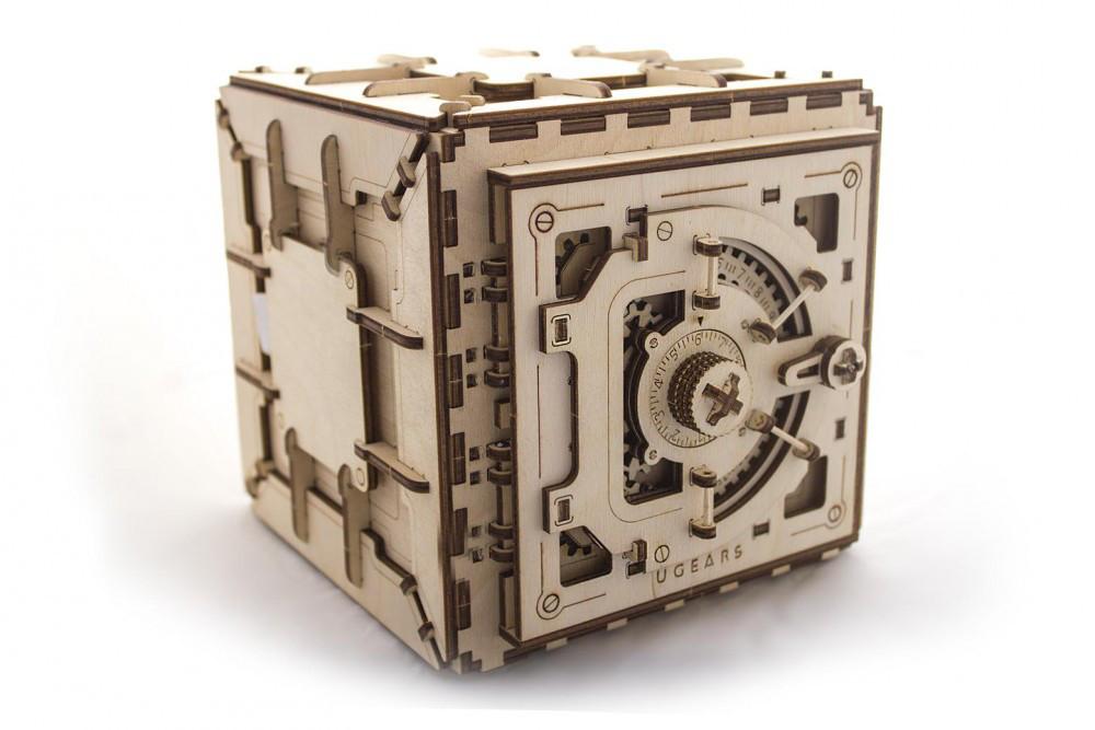 Механические 3D пазлы UGEARS - «Сейф»