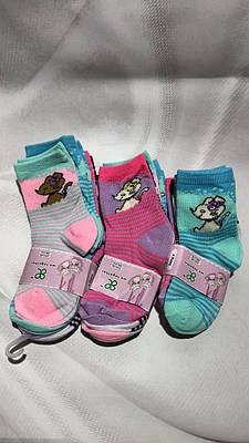 Дитячі шкарпетки для дівчаток тонкі