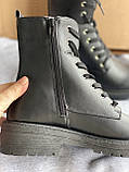 Черные ботинки деми из эко кожи madden girl от steve madden, фото 6