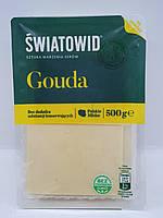 Сыр нарезка Gouda Swiatowid 500g (Польша)