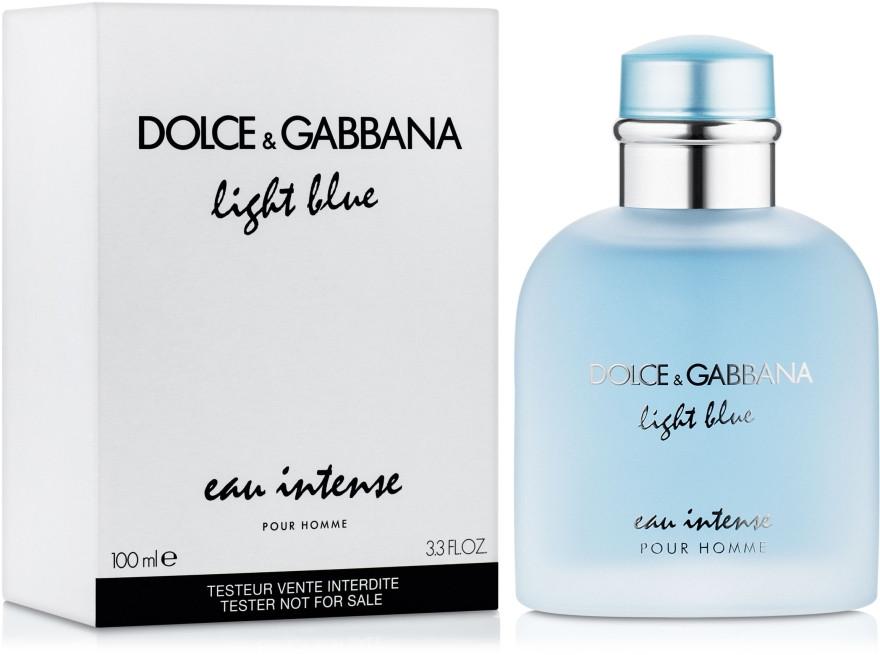Тестер жіночий Dolce&Gabbana Ligth Blue Intense