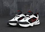 Мужские кроссовки Nike Monarch 4 в стиле найк монарх белые (Реплика ААА+), фото 2