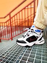Мужские кроссовки Nike Monarch 4 в стиле найк монарх белые (Реплика ААА+)